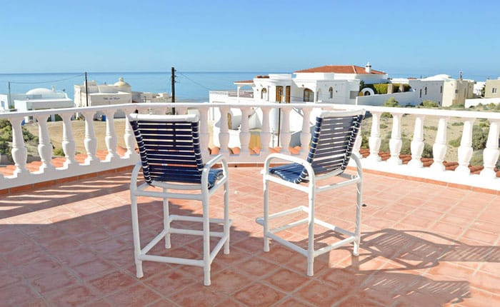Rocky-Point-House-Rental-Las-Vista-del-Ma-outside-seating-on-patio