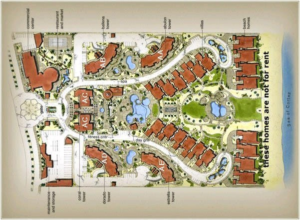 Bella Sirena Rocky Point Building Layout