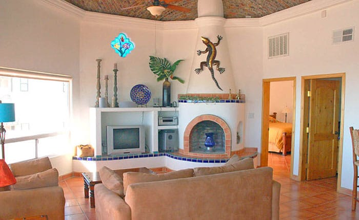 Rocky-Point-House-Rental-Casa-Del-Sol-fireplace