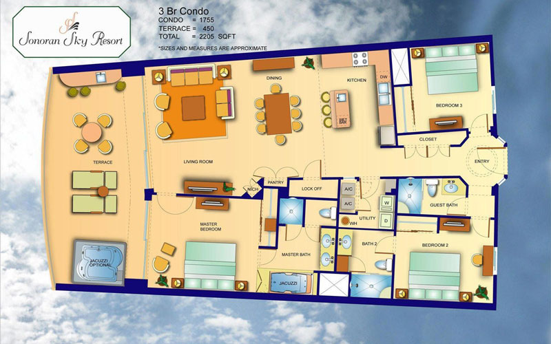 Sonoran-Sky-Resort-Three-Bedroom-Condo